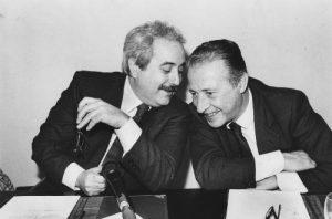 Tony Gentile - Giovanni Falcone e Paolo Borsellino - Palermo 27 marzo 1992